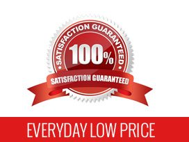 100% Satisfaction Guaranteed. Everyday Low Prices.