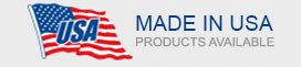 Made in USA Products Available.